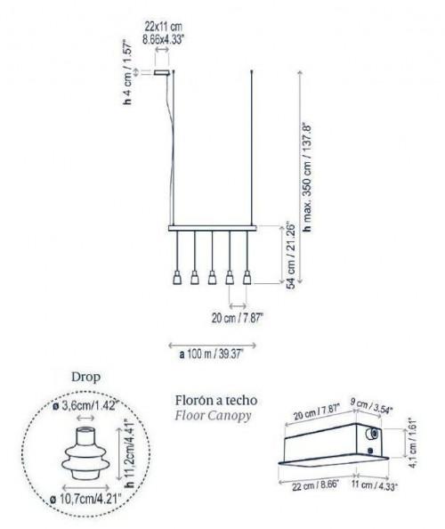 Bover Drop Linear S/05L Grafik