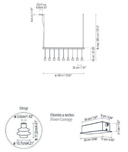 Bover Drop Linear S/09L Grafik