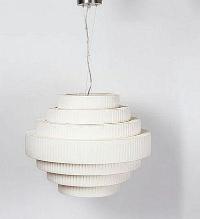 Bover Mos 01 Leuchtenschirm weiß