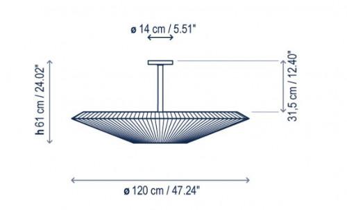 Bover Siam 120 - 61cm Grafik