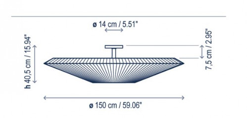 Bover Siam 150 - 40,5cm Grafik