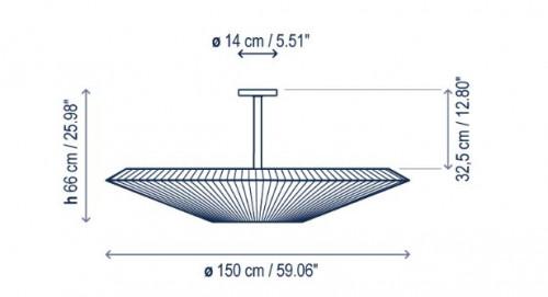 Bover Siam 150 - 66cm Grafik