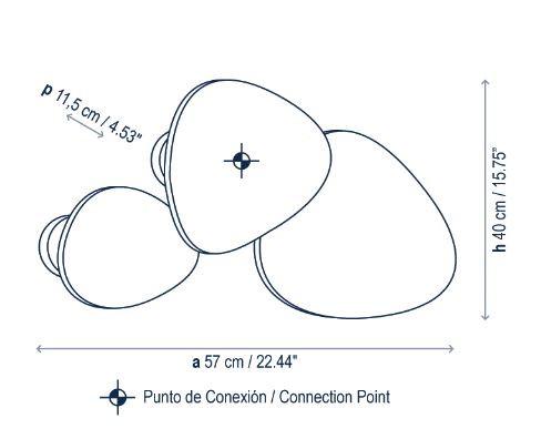 Bover Tria Set 3 Grafik