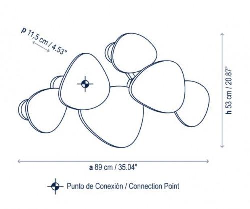 Bover Tria Set 6 Grafik