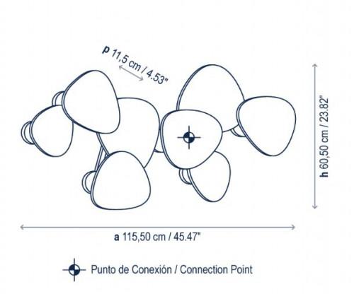 Bover Tria Set 8 Grafik