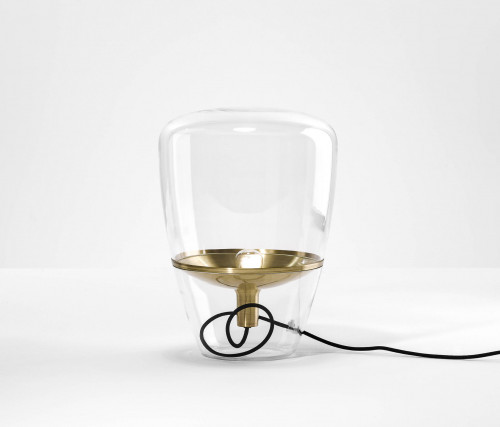 Brokis Balloons Small transparent, Reflektor Messing