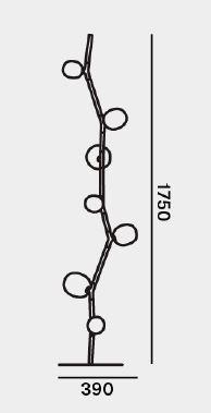 Brokis Ivy Floor Grafik