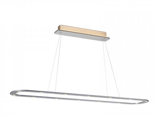 Byok Piani Lungo 140 Downlight Aluminium matt (inklusive optionale Baldachin-Beleuchtung)