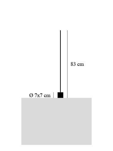 Catellani and Smith Light Stick T Grafik