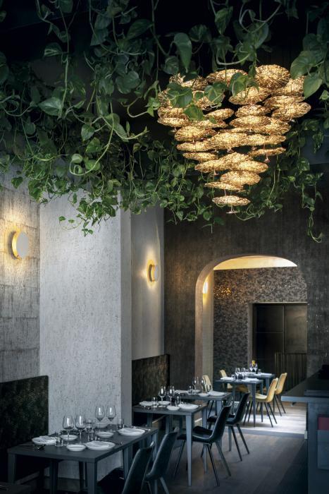 Catellani & Smith Gold Moon Chandelier