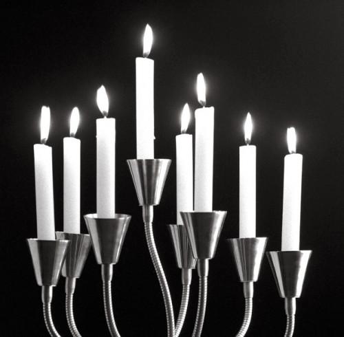 Catellani & Smith Kyrie Eleison Leuchtenkopf mit Kerzen