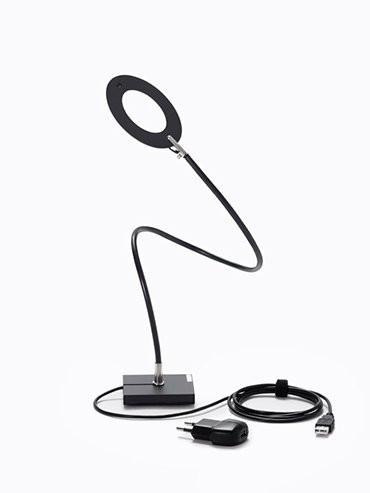 Catellani & Smith Giulietta T USB schwarz mit schwarzem Ring