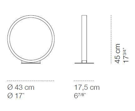 Cini & Nils Assolo 43 Tischleuchte Grafik