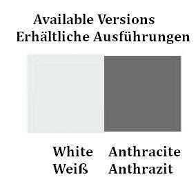 Cini & Nils Assolo Outdoor Wand- und Deckenleuchte Farbtafel