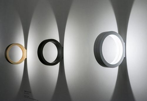 Cini & Nils Assolo Wand- und Deckenleuchte gold, schwarz und weiß