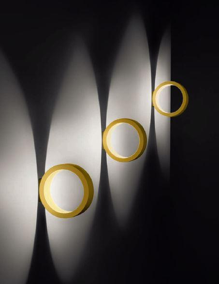 Cini & Nils Assolo Wand- und Deckenleuchte gold