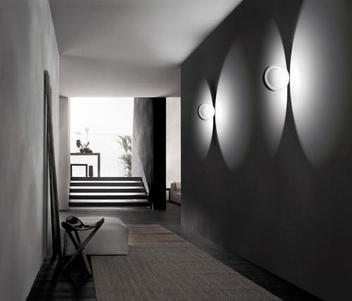 Cini & Nils Assolo Wand- und Deckenleuchte weiß