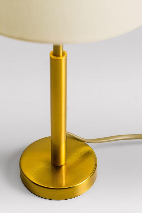Lupia Licht Garde S Leuchtenstab Messing antik Leuchtenschirm Champagner