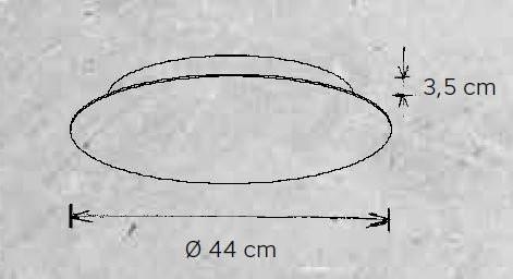 Escale Blade 44 cm Grafik