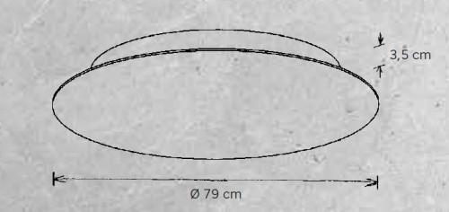 Escale Blade 79 cm Grafik