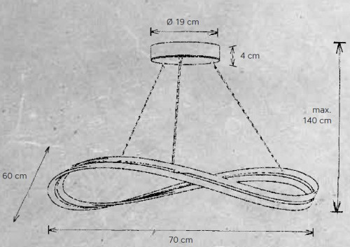 Escale Infinity 70 cm
