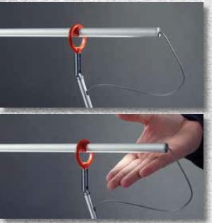 Escale Slimline Tischleuchte Gestensensor