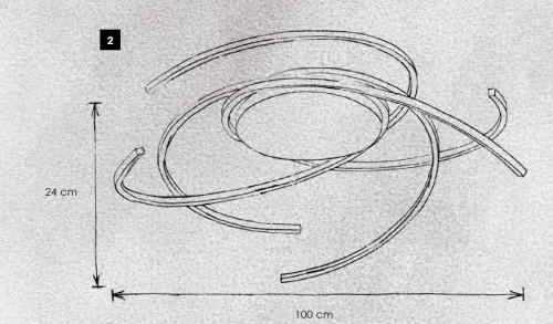 Escale Space 100 cm Grafik