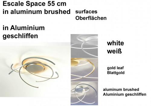 Escale Space 55 cm Oberflächen