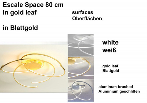 Escale Space 80 cm Oberflächen