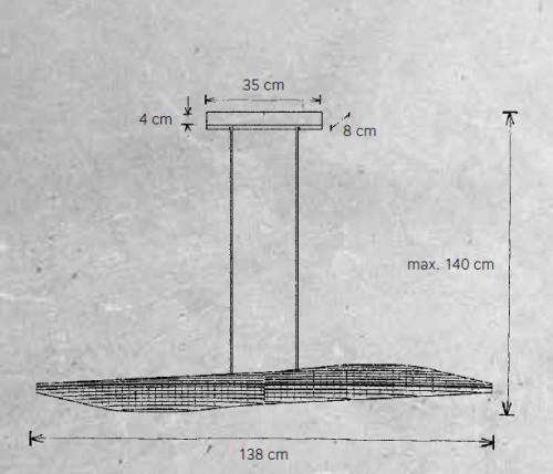 Escale Stratos Pendelleuchte Grafik