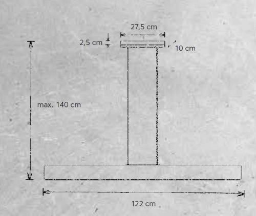 Escale Vitro 122 cm Grafik