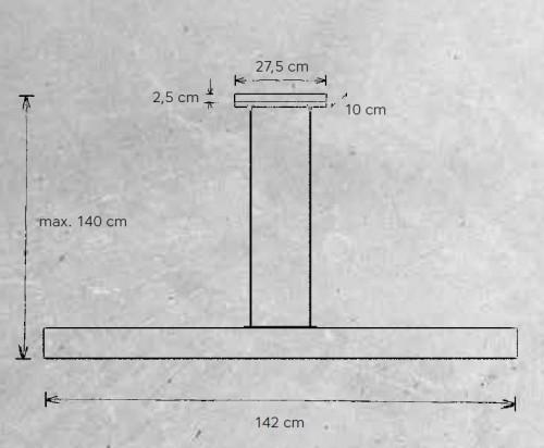 Escale Vitro 142 cm Grafik