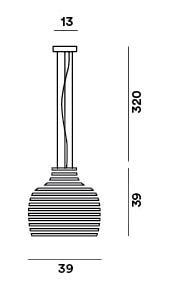 Foscarini Behive Sospensione Grafik