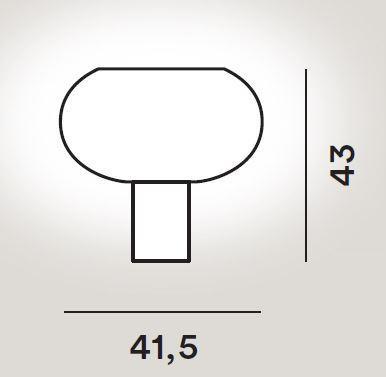 Foscarini Buds Tavolo 2 Grafik