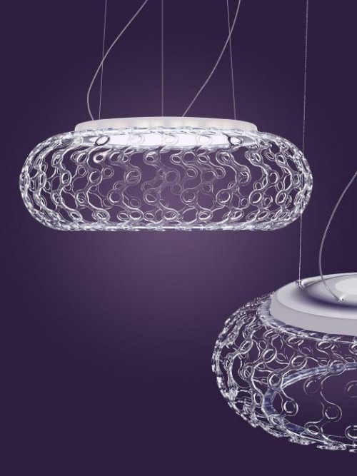 Foscarini Caboche Plus Sospensione Grande LED ohne Kugeln