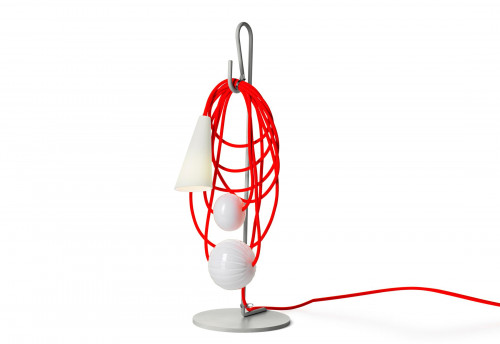 Foscarini Filo Tavolo Version 2, Eastern Coral
