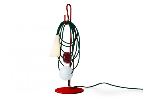Foscarini Filo Tavolo Version 6, Ruby Jaypure