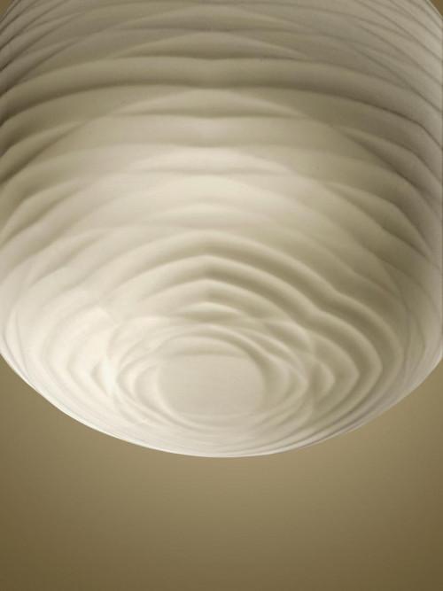 Foscarini Gem Sospensione LED Schirm von unten