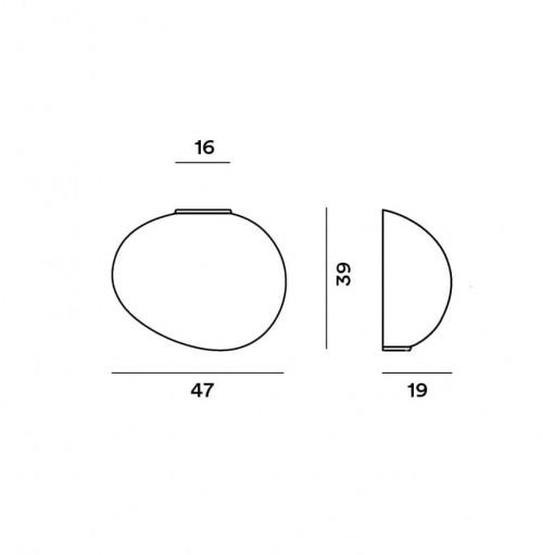 Foscarini Gregg Parete Grande Semi 1 Grafik