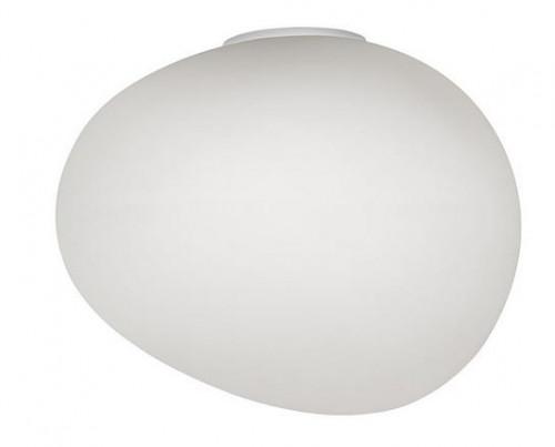 Foscarini Gregg Parete Grande Semi 1 weiß