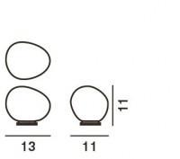 Foscarini Gregg Tavolo Piccola Grafik