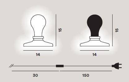 Foscarini Light Bulb Grafik