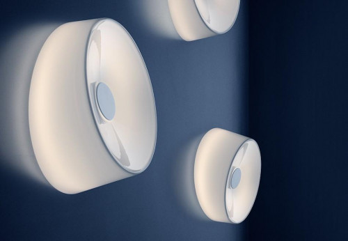 Foscarini Lumiere XXS Soffitto Parete LED weiß