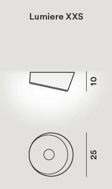 Foscarini Lumiere XXS Soffitto LED Ersatzteil