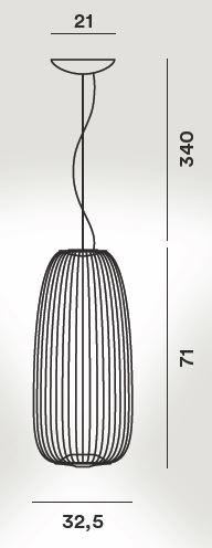 Foscarini Spokes 1 Grafik