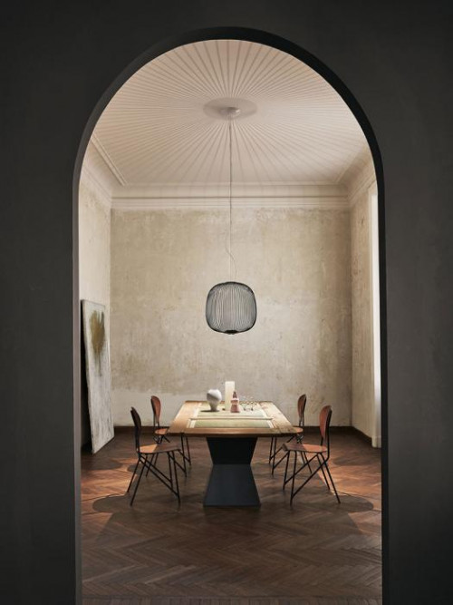 Foscarini Spokes 2 MyLight grau