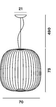 Foscarini Spokes 2 Large MyLight Grafik