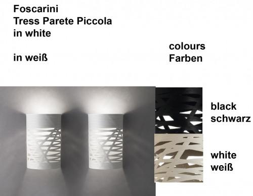 Foscarini Tress Parete Piccola Farben