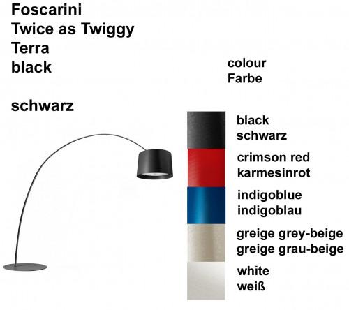 Foscarini Twice as Twiggy Terra Farben