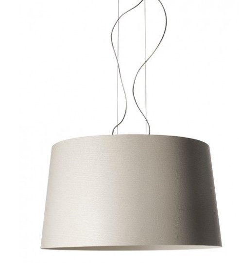 Foscarini Twice as Twiggy Sospensione greige grau-beige